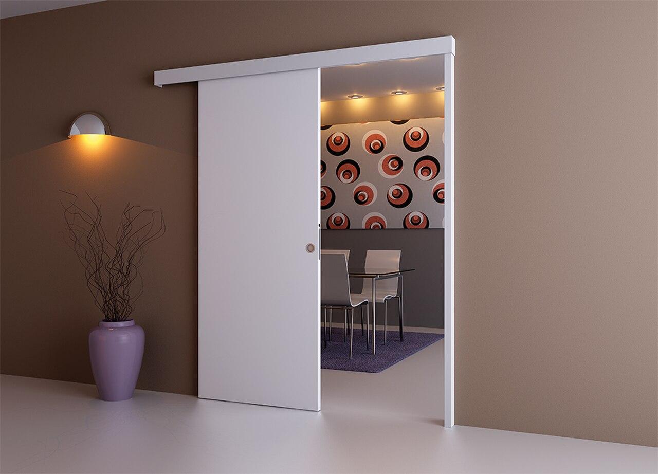 Межкомнатные двери с раздвижным механизмом.