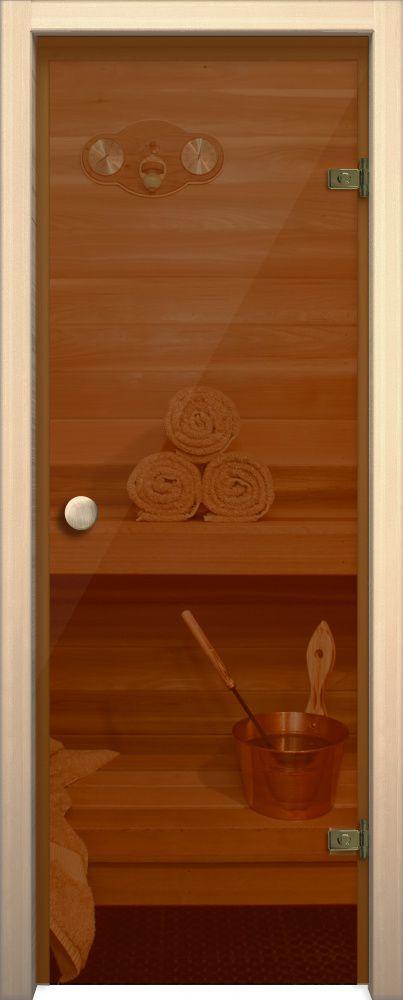 Двери для бани и сауны Кноб