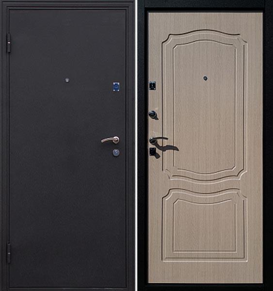 Входные двери Покров Ульяновск черный шелк/венге, дуб седой, итальянский орех