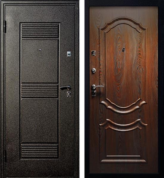 двери входные венге черный шелк