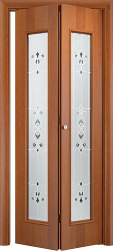 Складная межкомнатная дверь серии С-21 Барокко