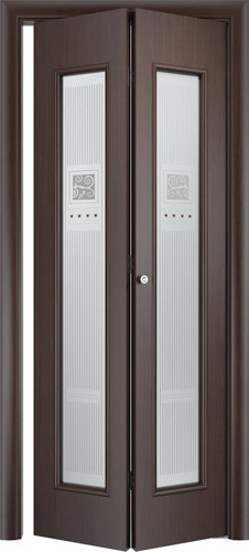 Складная межкомнатная дверь серии С-21 Модерн