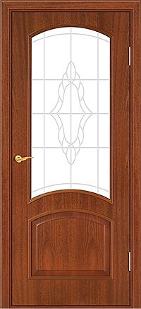 Межкомнатная дверь модельного ряда Ретро «Тип 116ДФО»