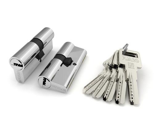 Цилиндровый механизм R600/90 mm (40+10+40) BBP латунь 5 кл.
