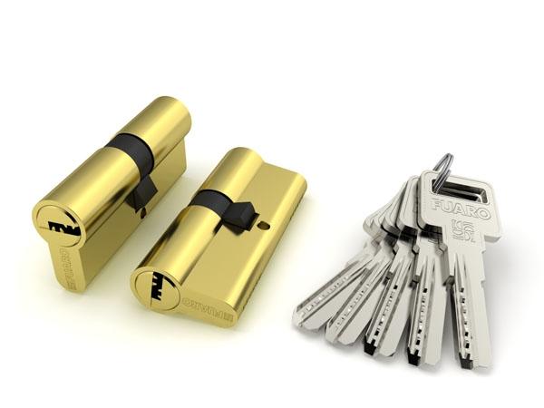Цилиндровый механизм R600/80 mm (30+10+40)/(35+10+35) 5 кл.