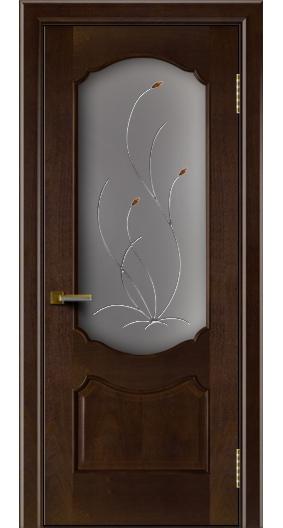 Межкомнатная дверь Богема со стеклом Ковыль тон 18