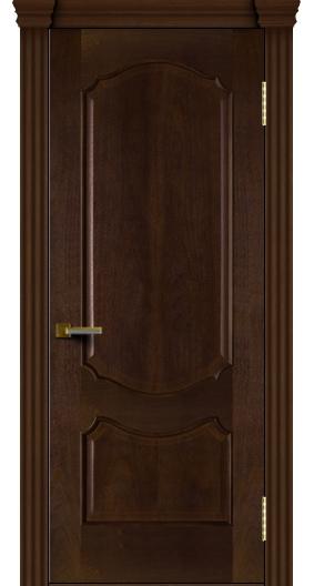 Межкомнатная дверь Лайндор  Богема глухая красное дерево тон 18