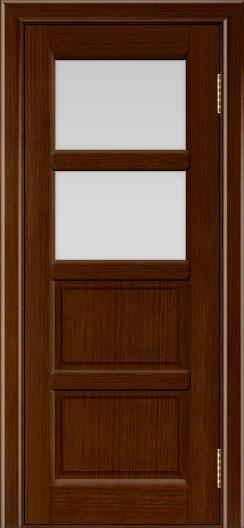 Межкомнатная дверь Лайндор  Классика 2 белый триплекс 2 орех тон 2
