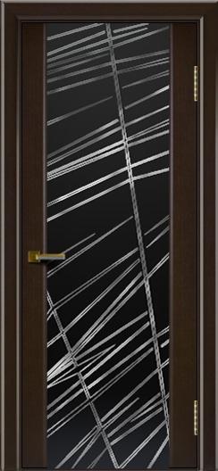 Межкомнатная дверь Лайндор  Камелия триплекс Графит венге тон 12