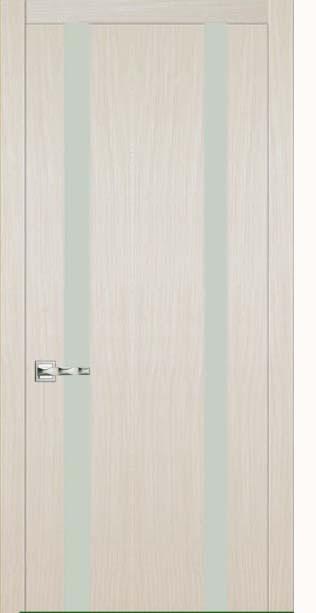 Межкомнатная дверь Дариано  Рондо 4 белый триплекс лате
