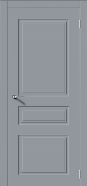 Межкомнатная дверь Квадро 4 графит